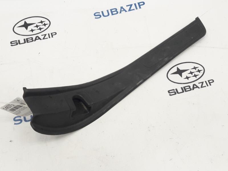 Накладка на порог Subaru Forester S12 EJ204 2009 задняя правая