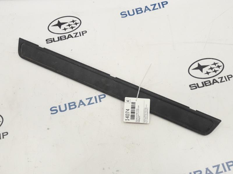 Накладка на порог Subaru Forester S12 EJ204 2009 передняя