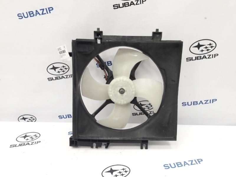 Диффузор с вентилятором Subaru Forester S12 EJ204 2009 левый