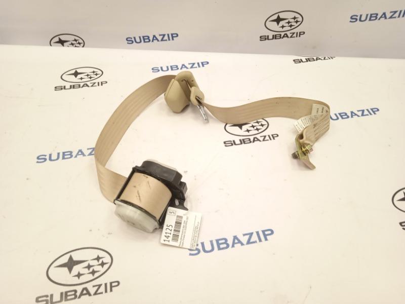 Ремень безопасности Subaru Forester S11 EJ203HPRHE 2007 задний правый