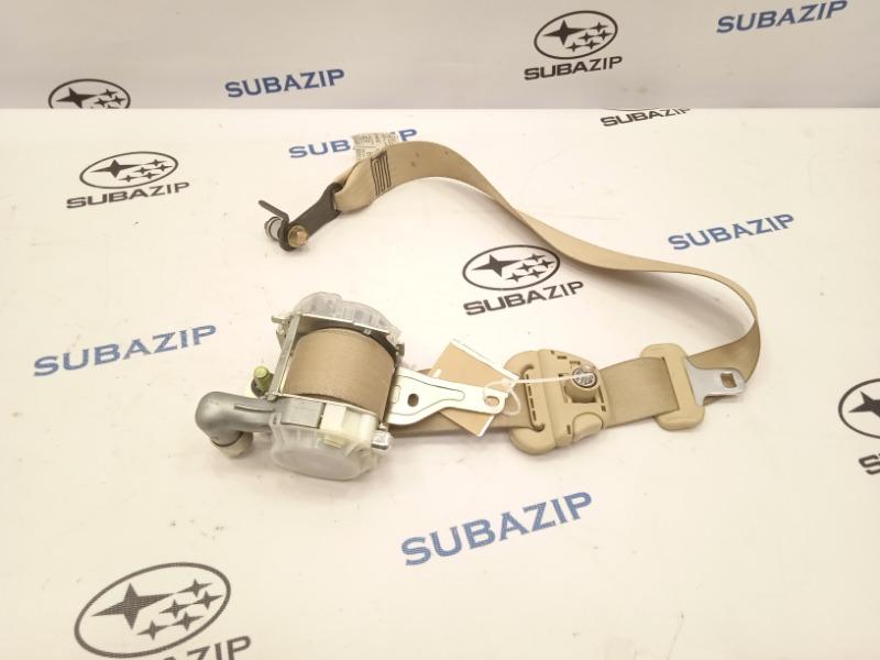 Ремень безопасности Subaru Forester S11 EJ203HPRHE 2007 передний правый