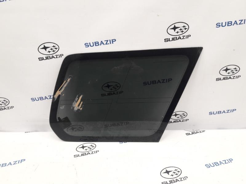 Стекло кузова глухое Subaru Forester S11 EJ203HPRHE 2007 заднее правое