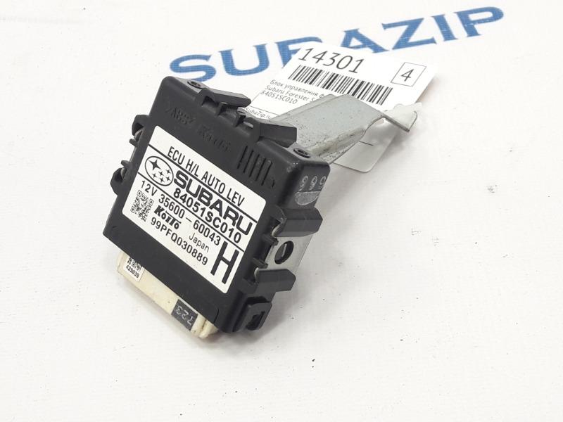 Блок управления фарами Subaru Forester S12 EJ204 2009