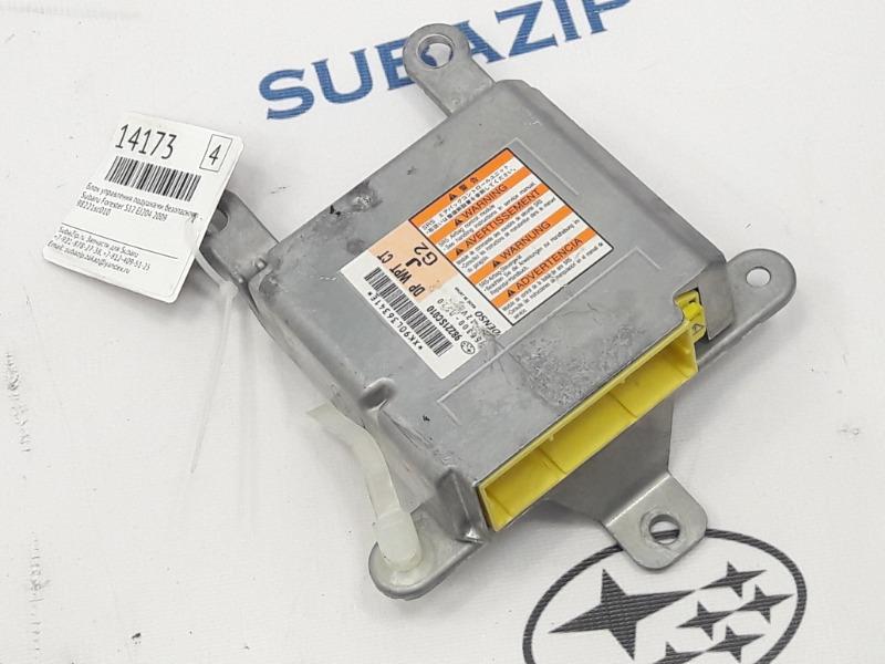 Блок управления подушками безопасности Subaru Forester S12 EJ204 2009 передний верхний