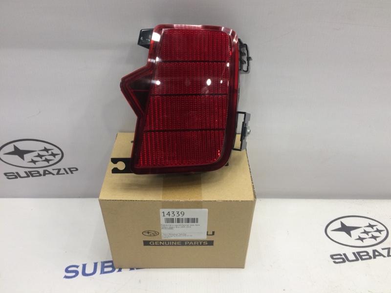 Рефлектор в задний бампер Subaru Legacy B14 2009 задний правый