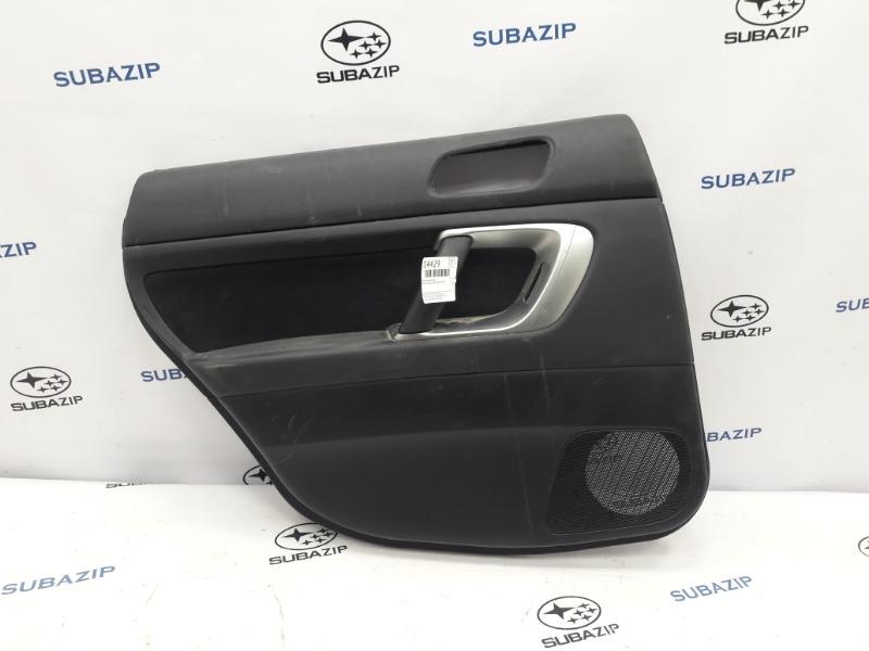 Обшивка двери Subaru Outback B13 EJ253 2007 задняя левая