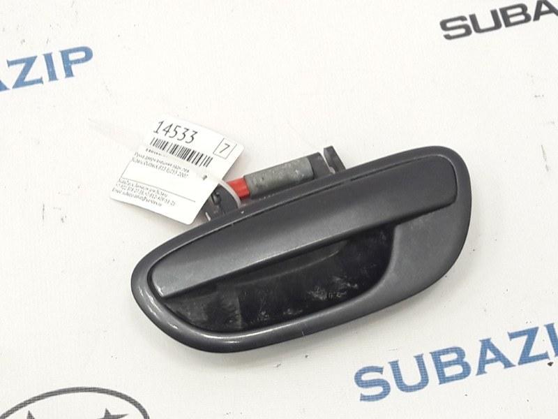 Ручка двери внешняя Subaru Outback B13 EJ253 2007 задняя левая
