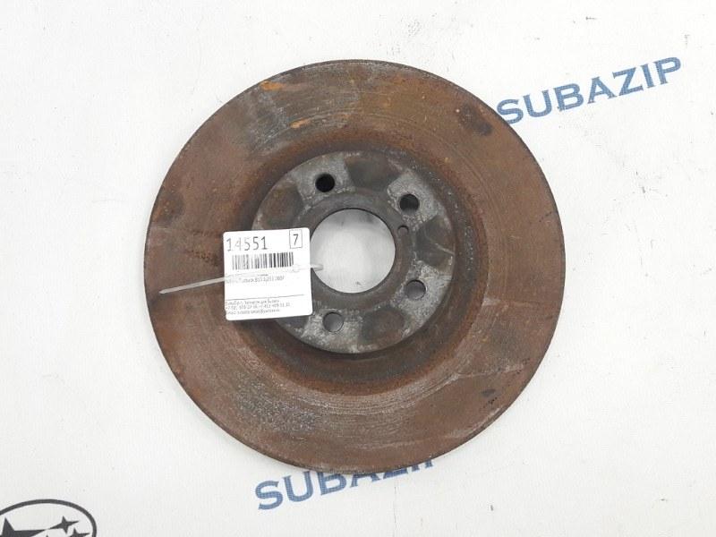Диск тормозной Subaru Outback B13 EJ253 2007 передний