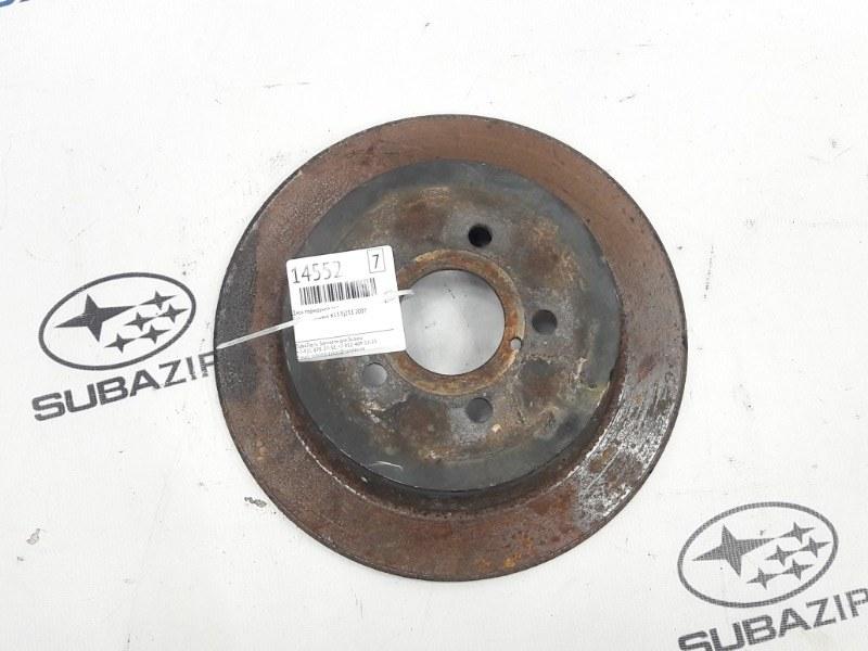 Диск тормозной Subaru Outback B13 EJ253 2007 задний
