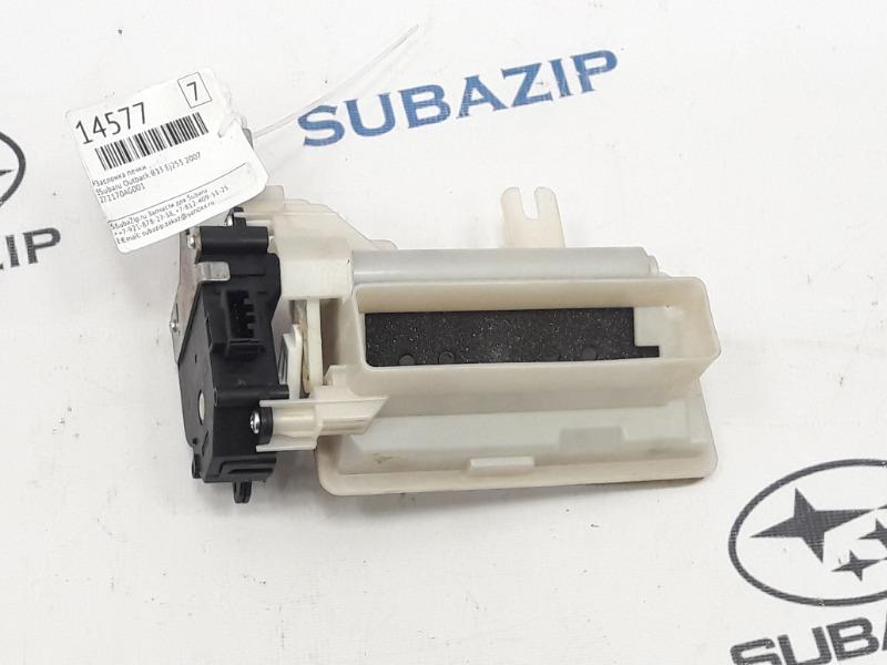 Заслонка печки Subaru Outback B13 EJ253 2007