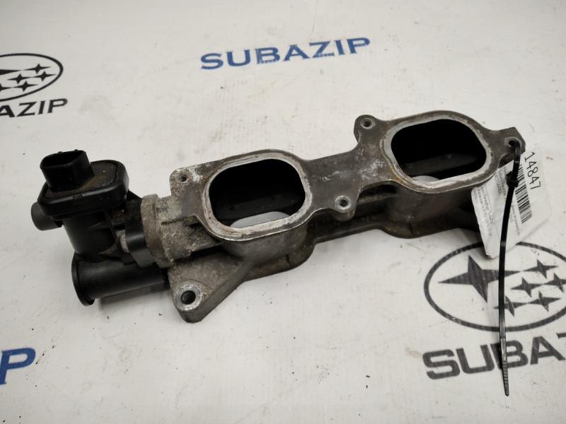 Механизм изменения длины впускного коллектора Subaru Forester S12 EJ20A 2010 левый