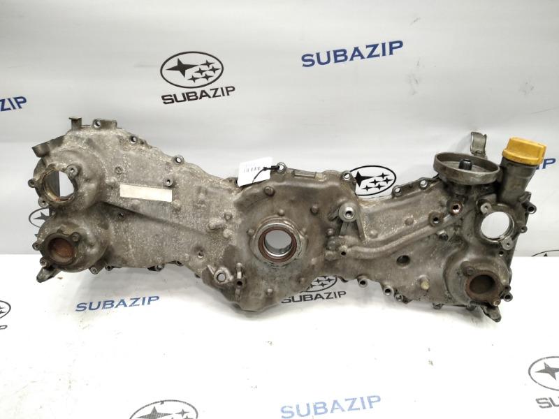 Крышка двигателя Subaru Forester S12 FA20 передняя