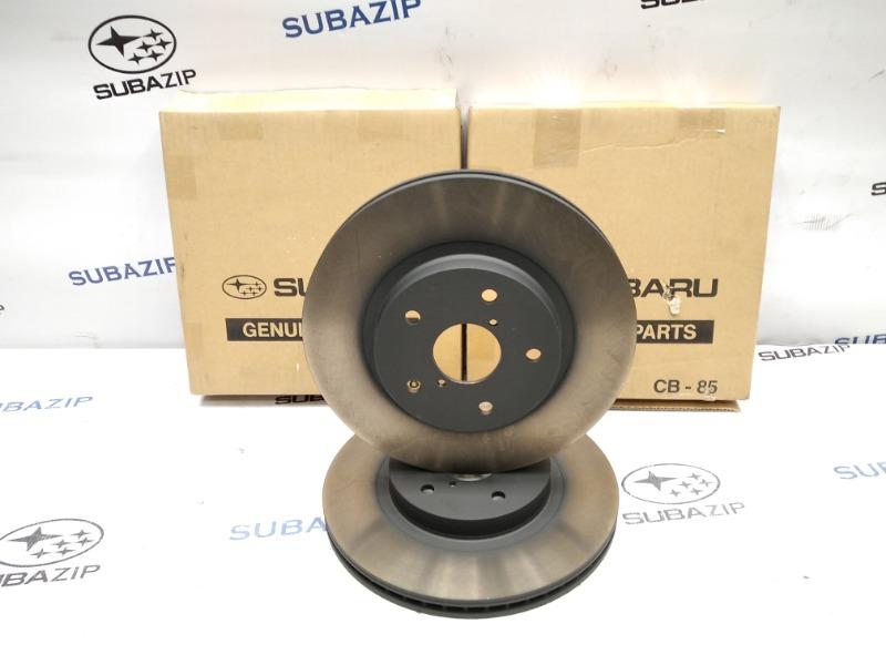 Диск тормозной Subaru Forester S14 2019 передний