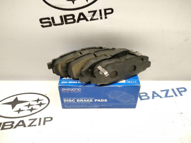 Тормозные колодки Subaru Forester S11 заднее