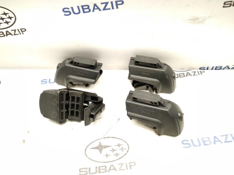 Крепление багажника на интегрированные рейлинги без просвета Subaru Forester S11