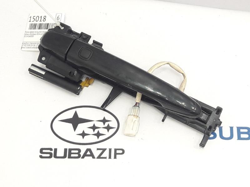 Ручка двери внешняя Subaru Outback B14 EJ253 2009 передняя левая