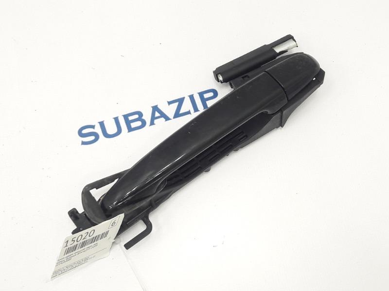 Ручка двери внешняя Subaru Outback B14 EJ253 2009 задняя левая