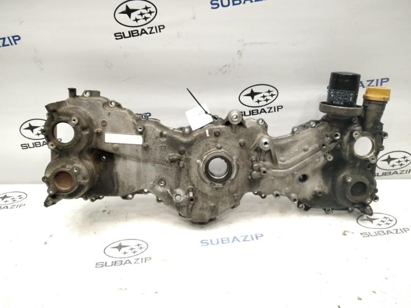 Крышка двигателя Subaru Forester S12 EJ20A передняя