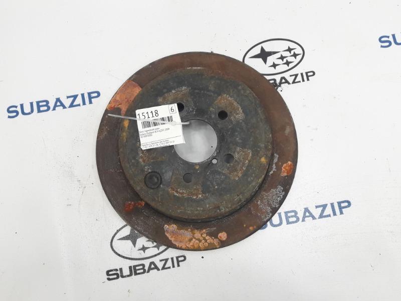Диск тормозной Subaru Outback B14 EJ253 2009 задний