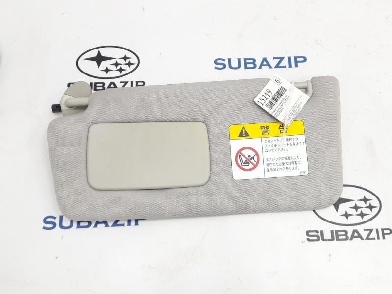 Козырек солнцезащитный Subaru Outback B14 EJ253 2009 левый