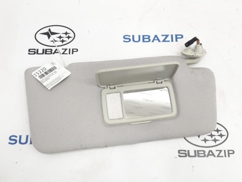 Козырек солнцезащитный Subaru Outback B14 EJ253 2009 правый