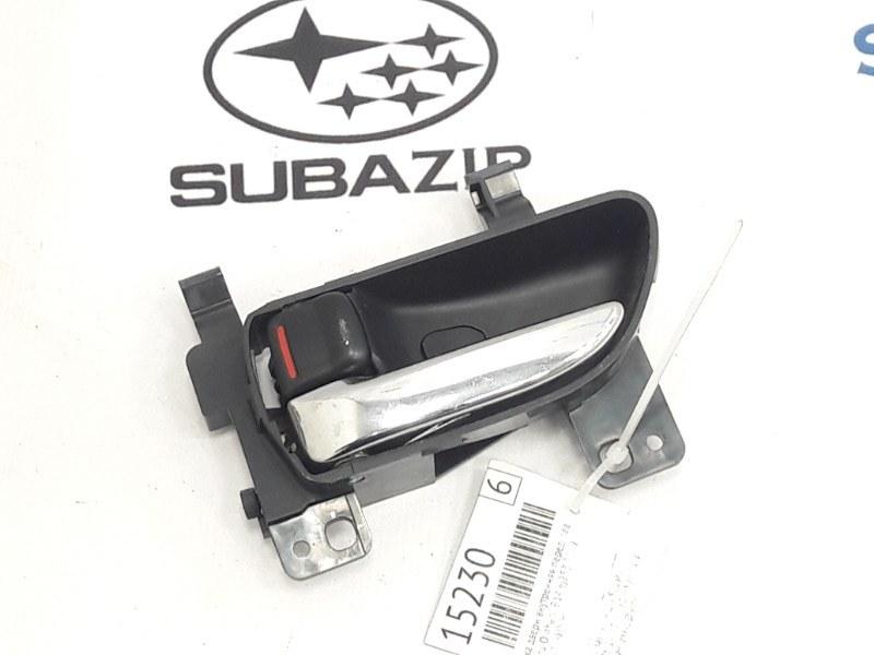 Ручка двери внутренняя Subaru Outback B14 EJ253 2009 передняя левая