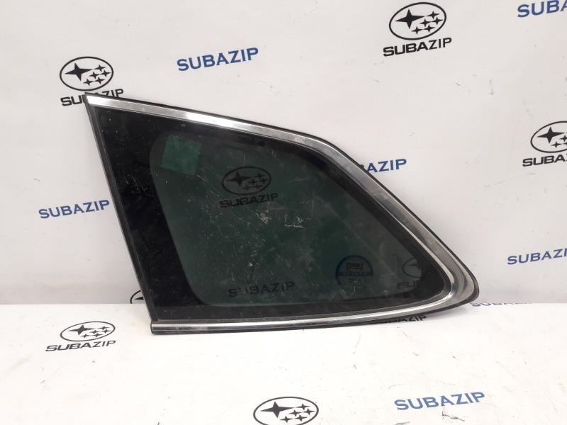 Стекло кузова глухое Subaru Outback B14 EJ253 2009 левое
