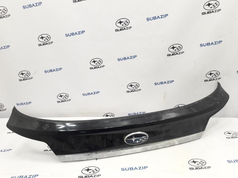 Накладка на крышку багажника Subaru Outback B14 EJ253 2009