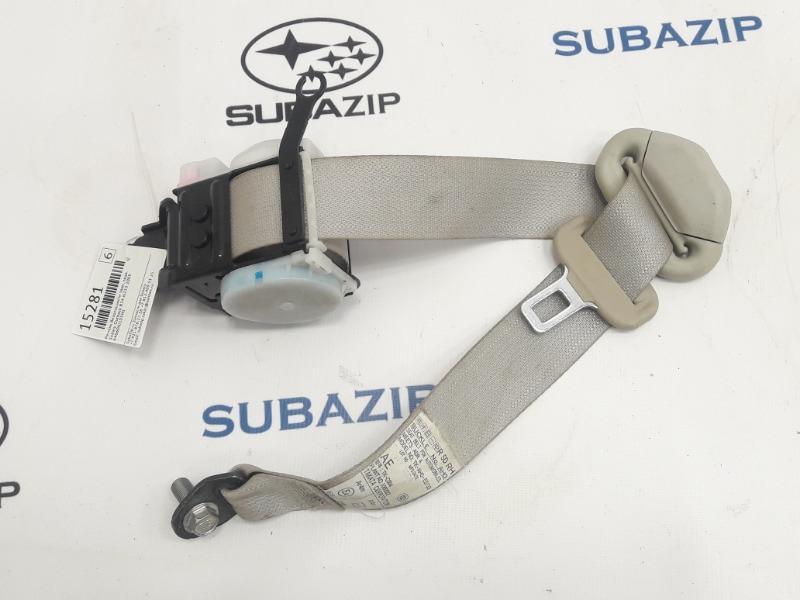 Ремень безопасности Subaru Outback B14 EJ253 2009 задний правый