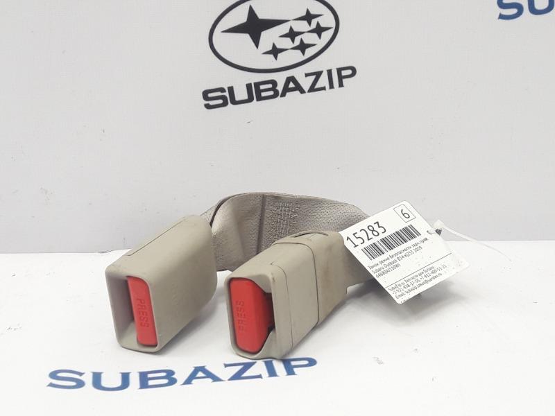 Замок ремня безопасности Subaru Outback B14 EJ253 2009 задний правый