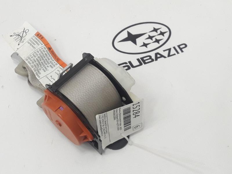 Ремень безопасности Subaru Outback B14 EJ253 2009 задний верхний