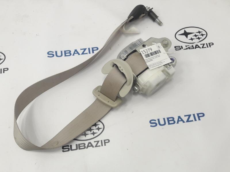 Ремень безопасности Subaru Outback B14 EJ253 2009 передний левый