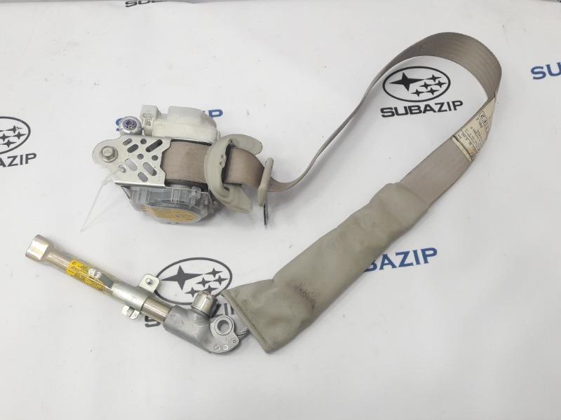 Ремень безопасности Subaru Outback B14 EJ253 2009 передний правый