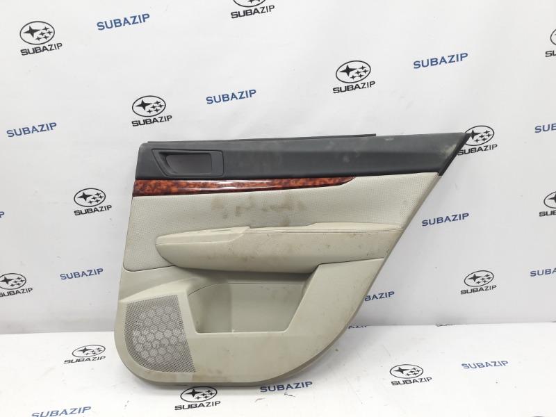 Обшивка двери Subaru Outback B14 EJ253 2009 задняя правая
