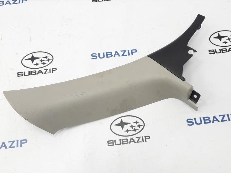 Накладка на стойку кузова Subaru Outback B13 EJ253 2007 задняя левая
