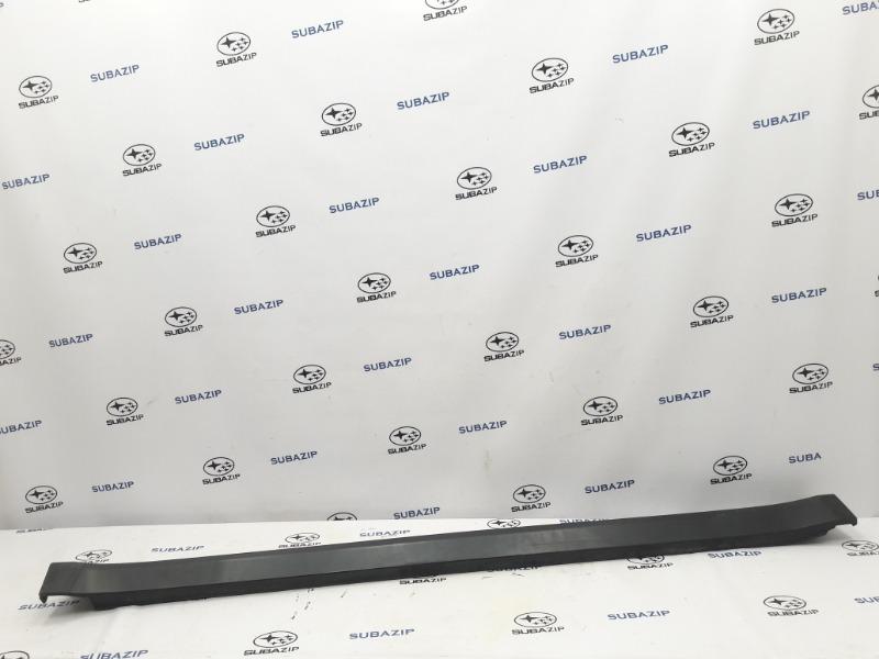 Накладка на порог Subaru Outback B14 EJ253 2009 правая