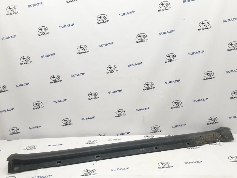 Накладка порога Subaru Outback B13 EJ253 2007 левая