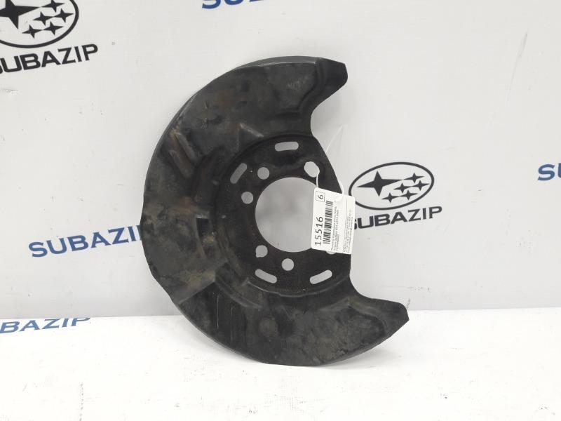 Пыльник тормозного диска Subaru Outback B14 EJ253 2009 передний