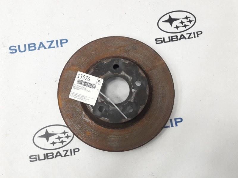 Диск тормозной Subaru Impreza GH-3 EL154 2011 передний