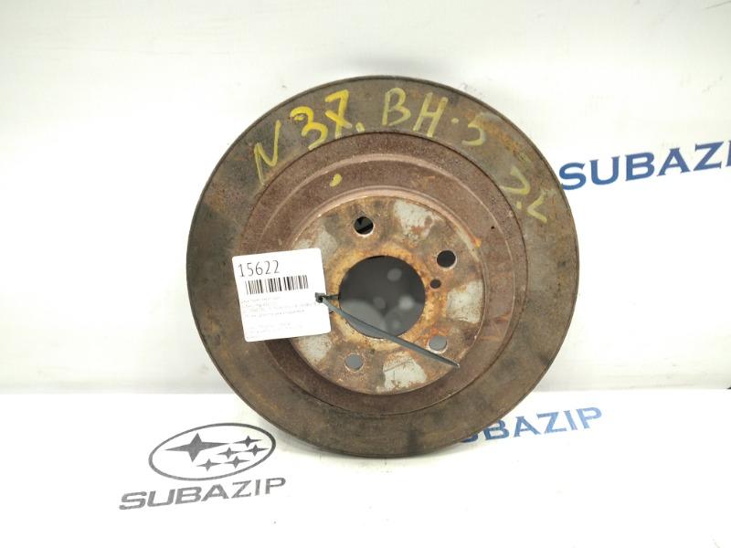 Диск тормозной Subaru Impreza G11 задний