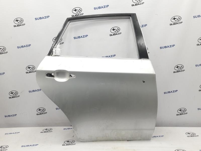 Дверь Subaru Impreza GH-3 EL154 2011 задняя правая