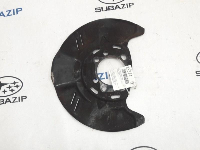 Пыльник тормозного диска Subaru Impreza G12 EL154 2011