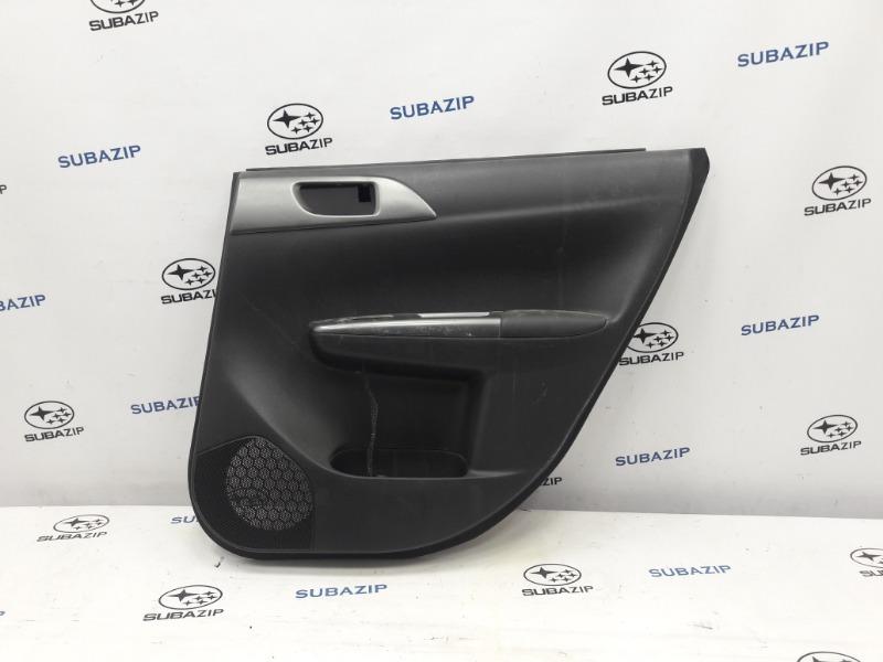 Обшивка двери Subaru Impreza GH-3 EL154 2011 задняя правая