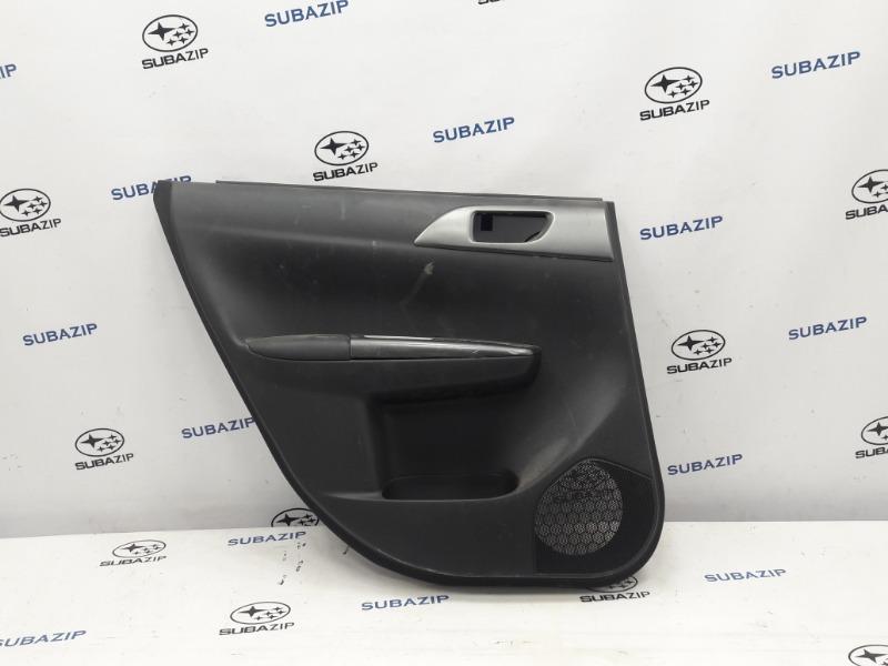 Обшивка двери Subaru Impreza GH-3 EL154 2011 задняя левая