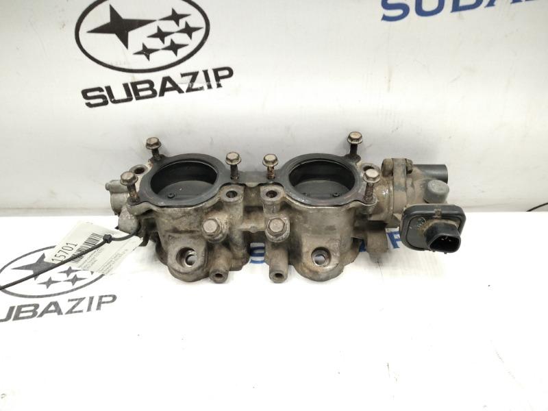Механизм изменения длины впускного коллектора Subaru Forester S12 EJ255 левый