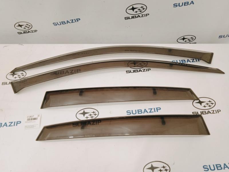Ветровики комплект Subaru Impreza GH-3 EL154 2011