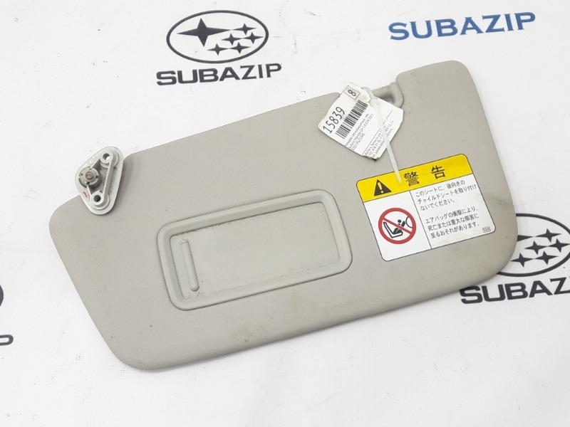 Козырек солнцезащитный Subaru Impreza GH-3 EL154 2011 левый