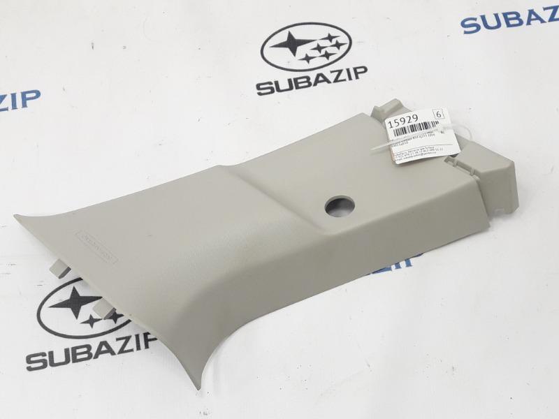 Обшивка стойки Subaru Outback B14 EJ253 2009 задняя левая верхняя