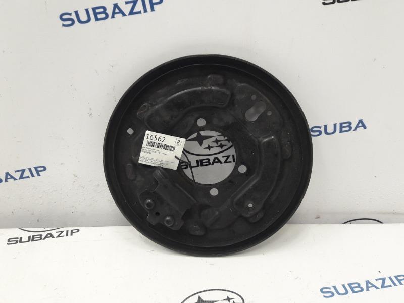 Щит тормозной Subaru Impreza G12 EL154 2011 левый