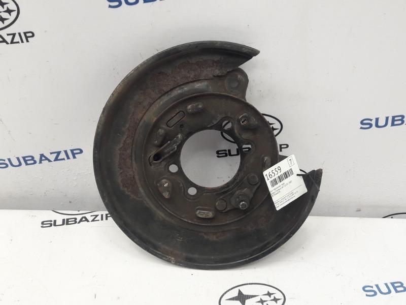 Щит тормозной Subaru Outback B13 EJ253 2007 правый